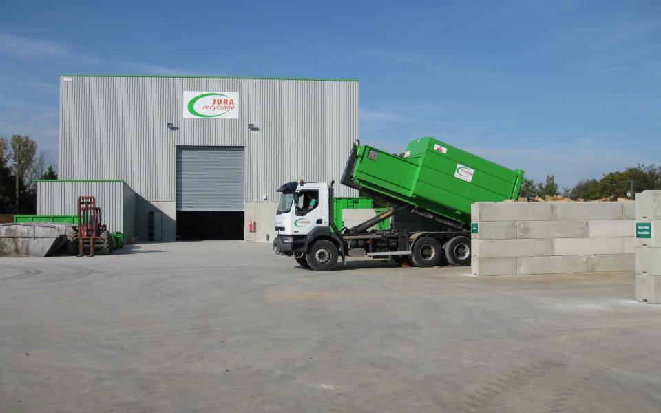 borugogne recylclage Jura recyclage